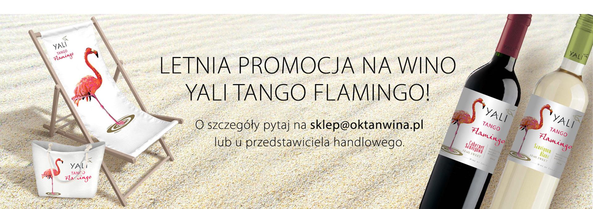 Letnia promocja na wino Yali Tango Flamingo!
